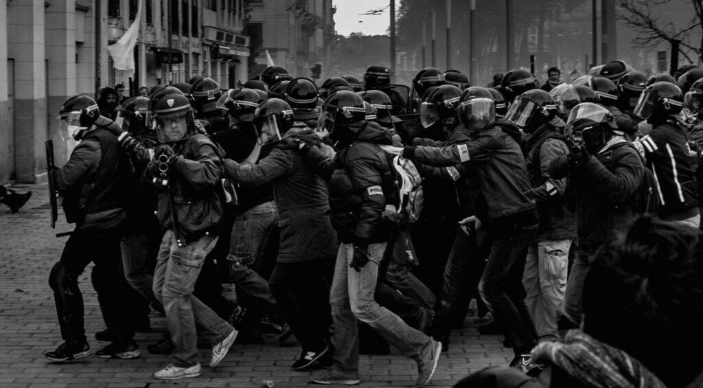 Brigade Anti-Criminalité de Nantes en action