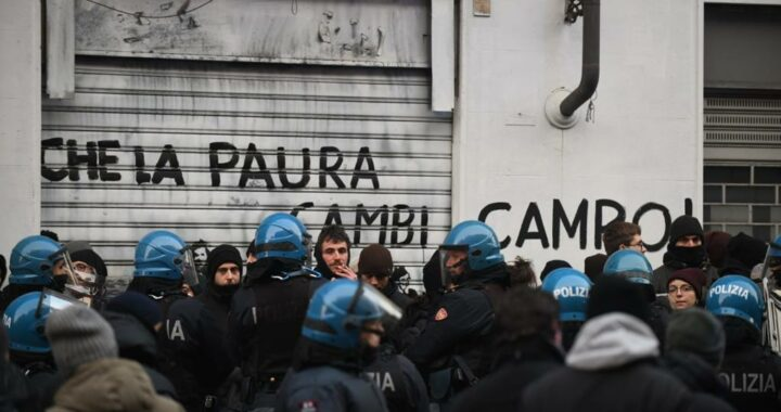 Expulsion de l'Asilo à Turin