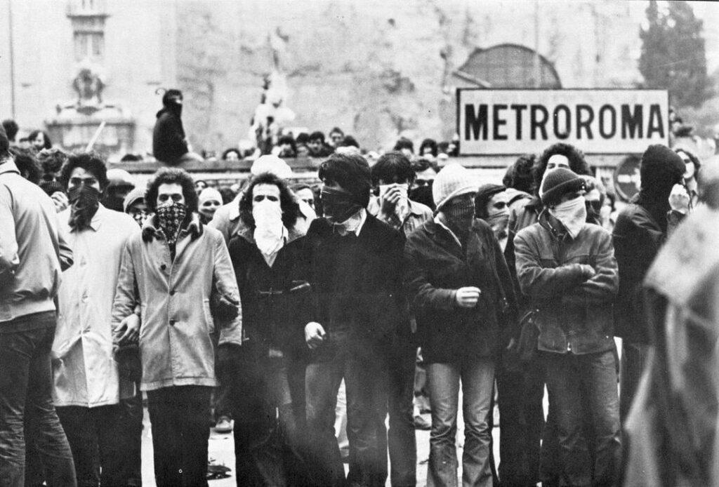 Manif du 12 mars 1977 à Rome