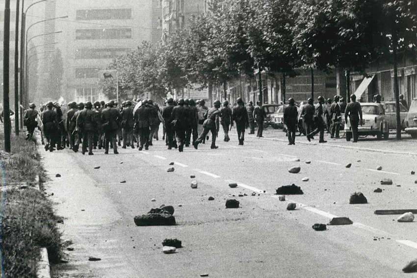 émeute Corso Traiano Turin 1969