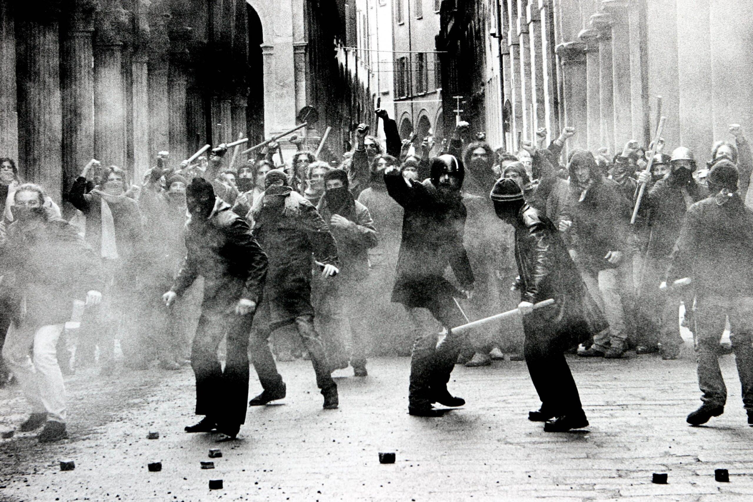 Émeutes à l'italienne