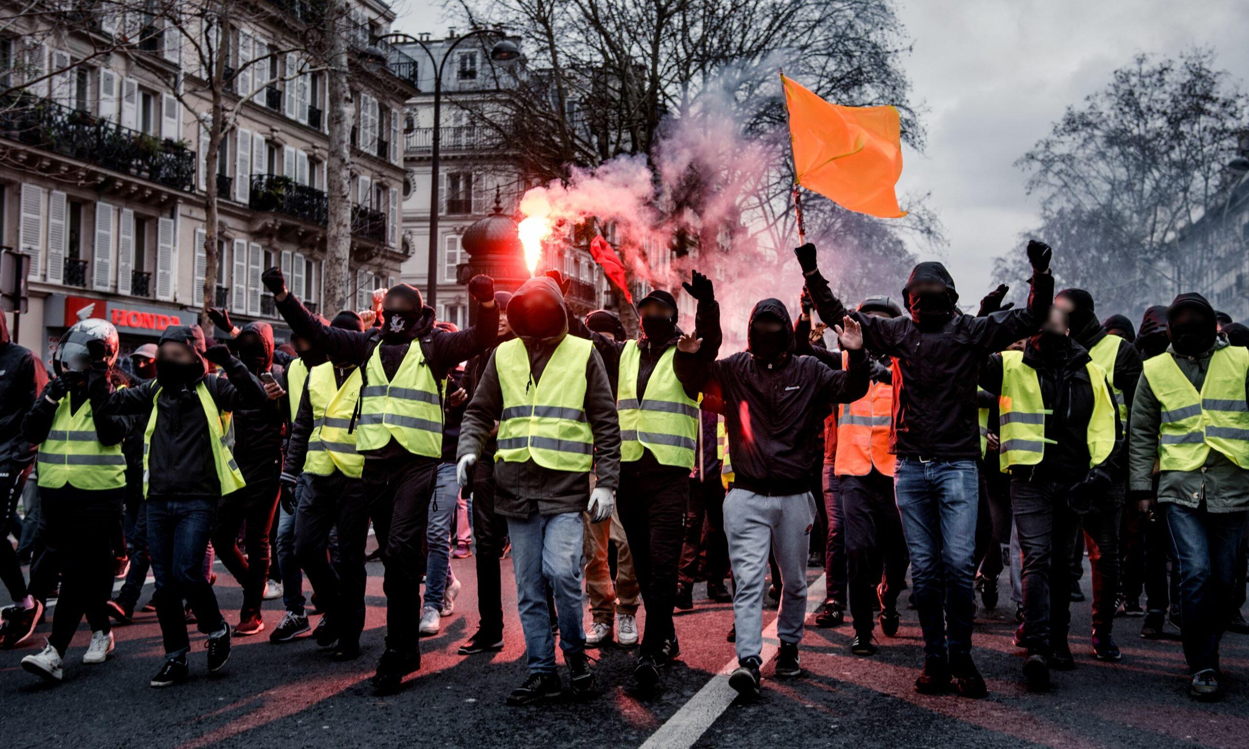 Manif Antifasciste Gilets Jaunes