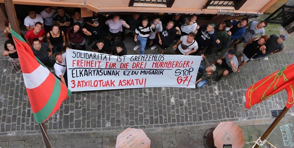 Solidarité avec les prisonniers du G7 !