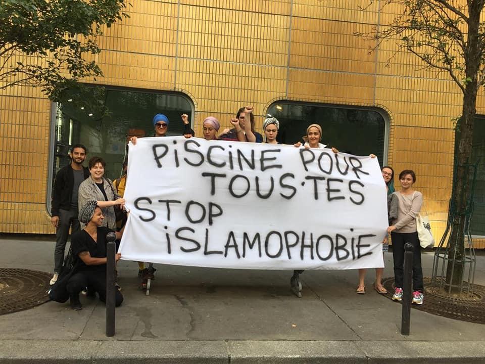 Stop islamophobie : piscine pour tou.te.s !