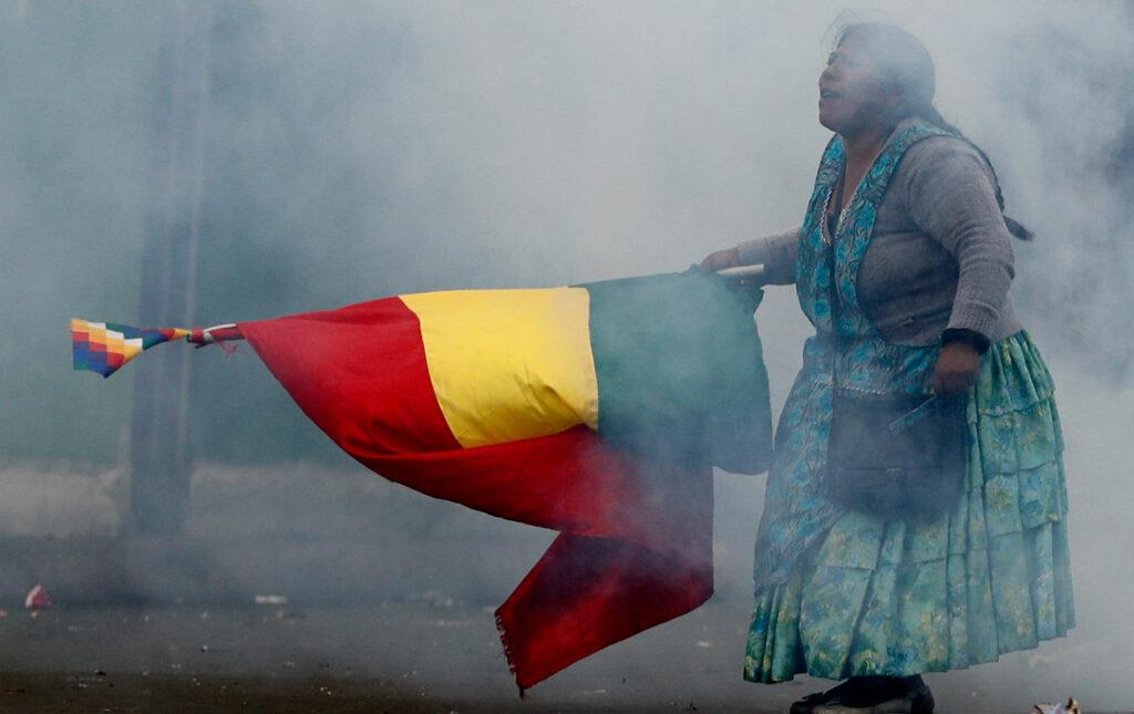 Coup d'État réactionnaire et révolte populaire en Bolivie