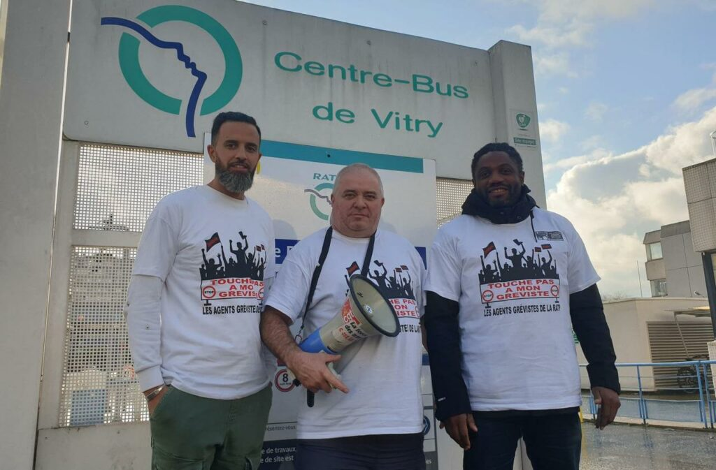 Communiqué de soutien aux trois grévistes de la RATP de Vitry