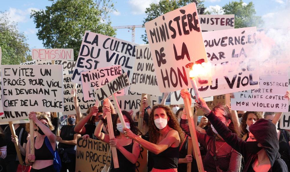 Mobilisations féministes : contre Darmanin… et tous les autres