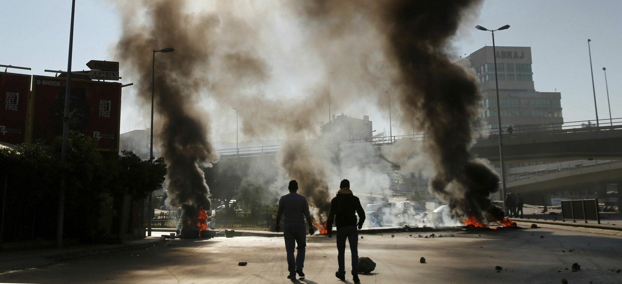 Émeutes logistiques