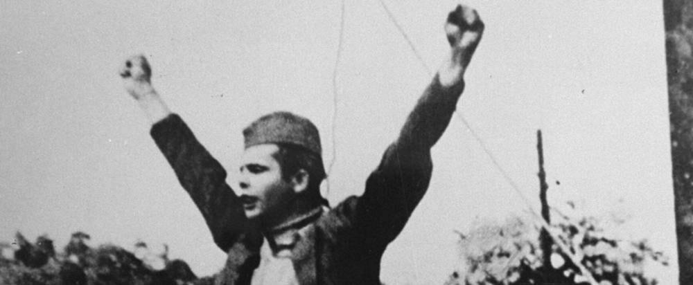 « Mort au fascisme ! Liberté pour le peuple ! »