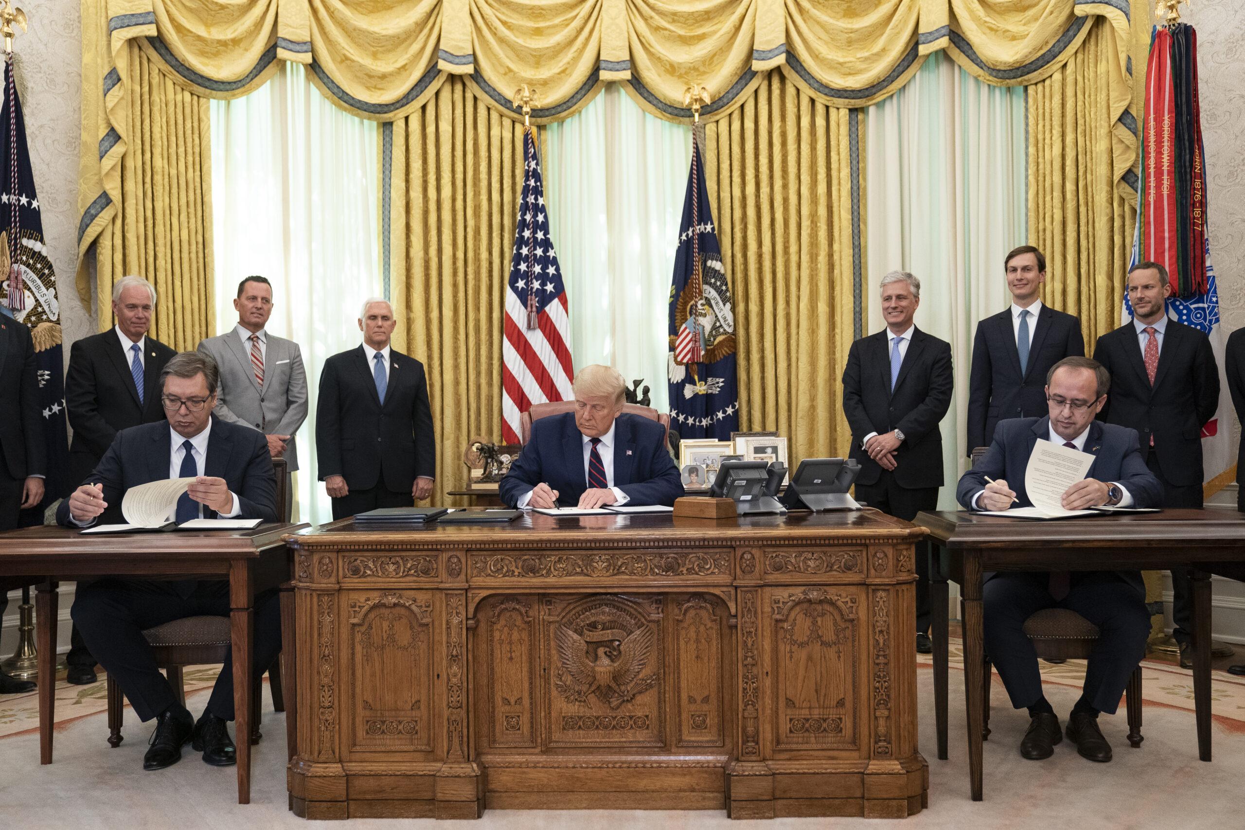 Accord Serbie-Kosovo : une soumission à l'impérialisme américain