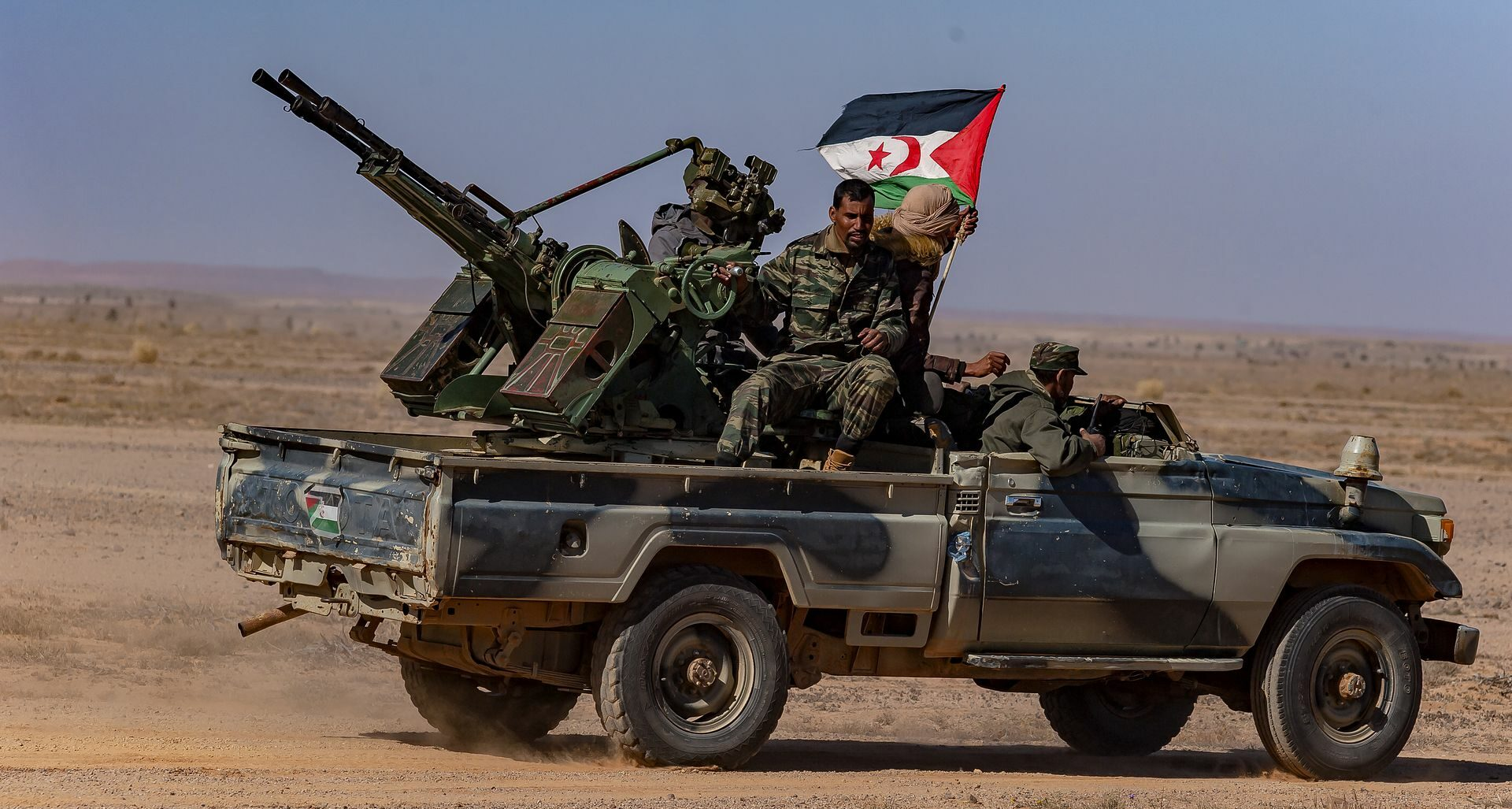 Agression militaire du Maroc dans le Sahara occidental