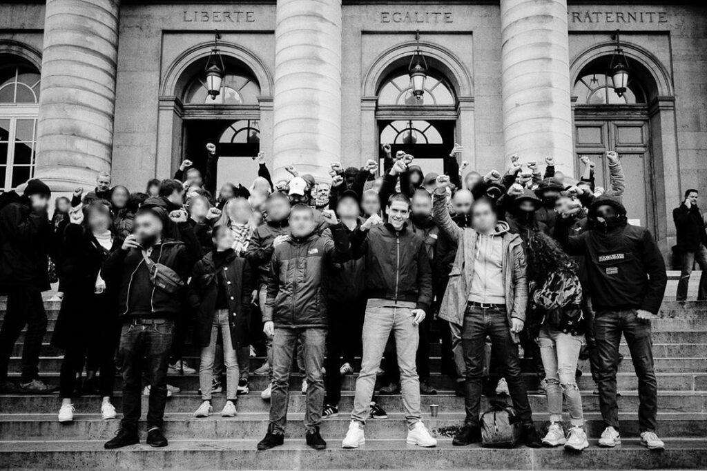 Rassemblement pour la levée du contrôle judiciaire d'Antonin Bernanos