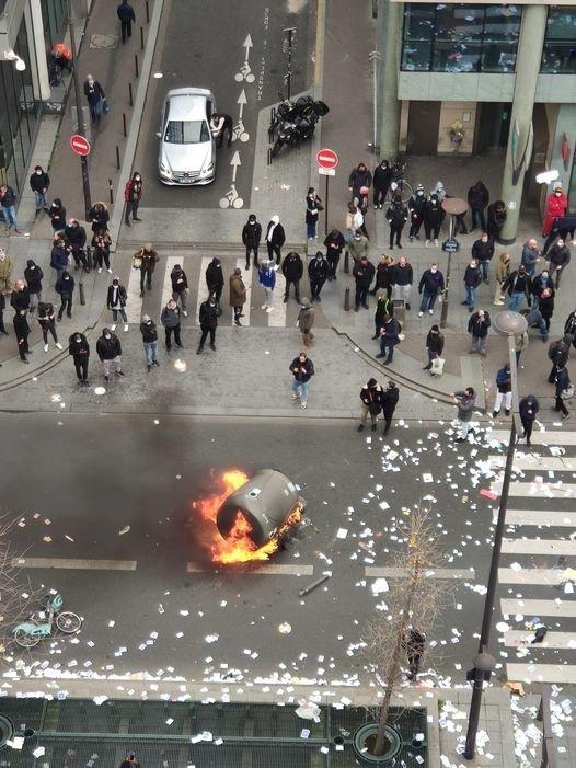 Action directe inachevée : la grève des éboueurs parisiens