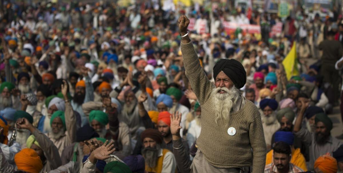 Inde : grève générale et mouvement paysan
