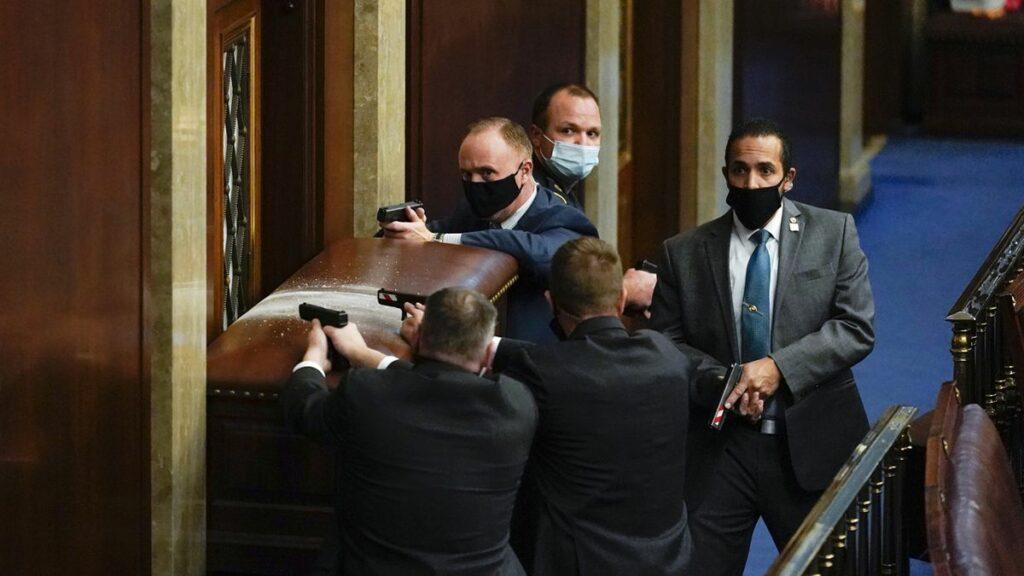 Envahissement du Capitole : les convulsions de l'Empire