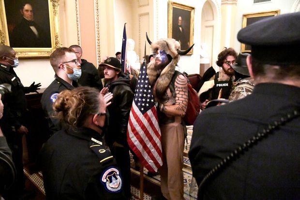 Mike Davis - Une émeute sur la Colline. Sur la manifestation au Capitole.