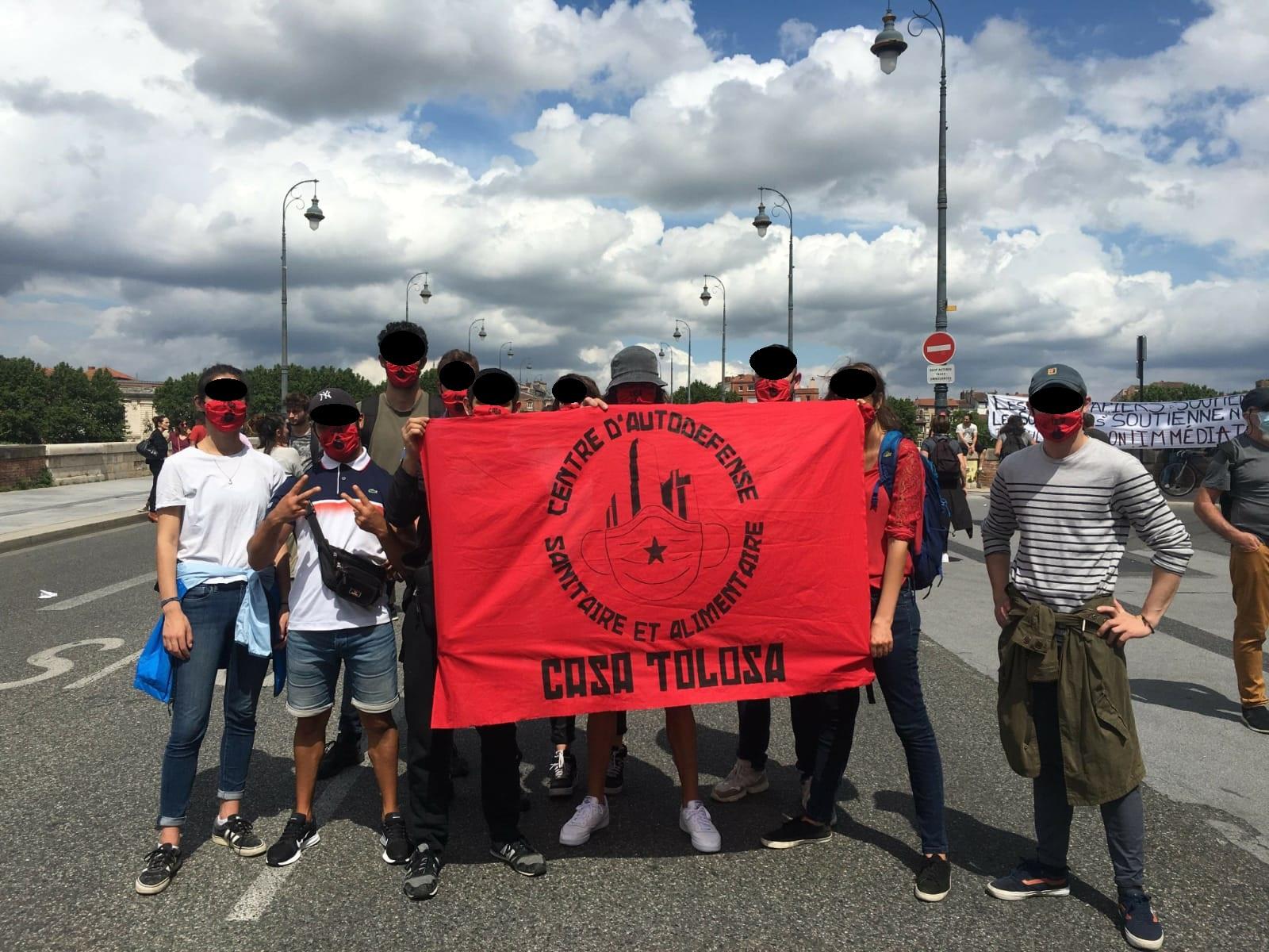 « L'État a abandonné les plus précaires, il a donc fallu organiser la riposte » : Entretien avec le CASA à Toulouse