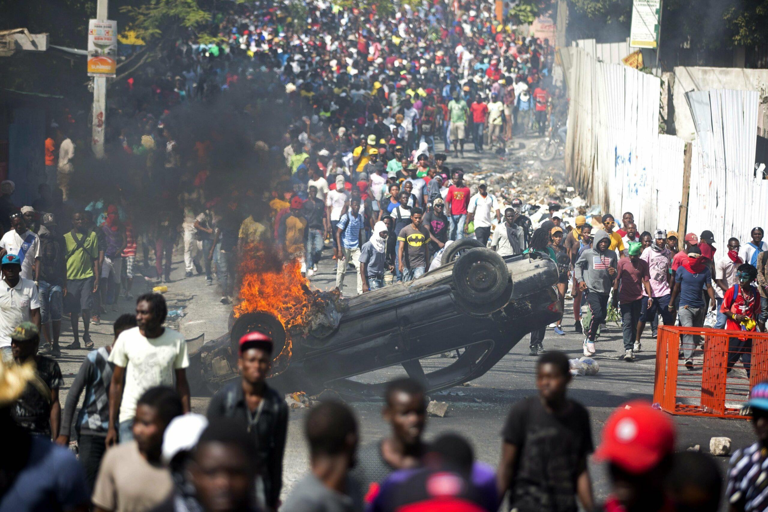Haïti se soulève : entretien avec Jean-Laurent Lhérisson