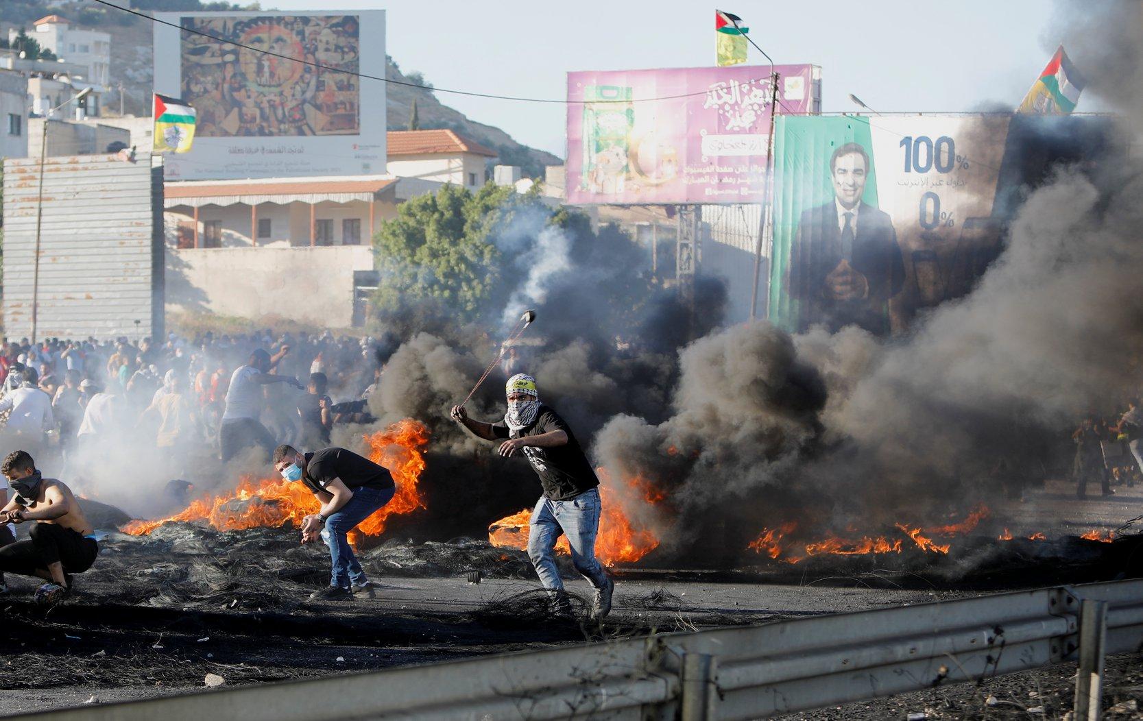 Palestine : grève générale et affrontements