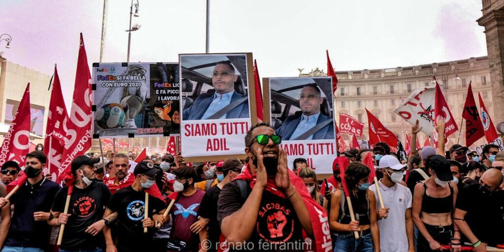 Italie : Rage et mobilisation après la mort d'Adil Belakhdim sur un piquet de grève